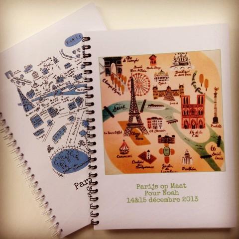 Boekjes Parijs op Maat